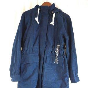 NWT Lucky Brand navy blue utility / cargo jacket